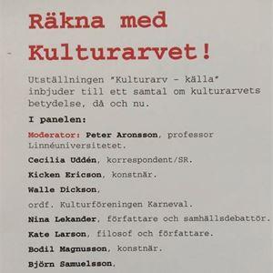 Bild på Panel diskussion, Näsby Nav