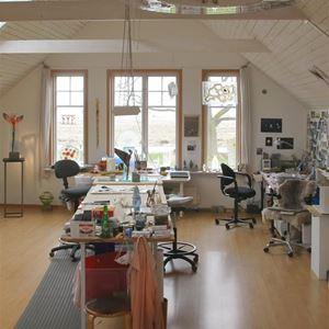 Bild på Interiör ateljé