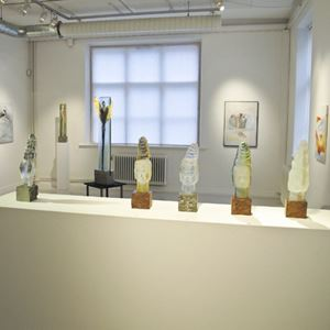 Bild på Galleri Monica Strandberg, Kalmar 2011