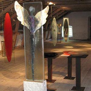 Bild på Konstmagasinet, Ottenby Kungsgård 2007
