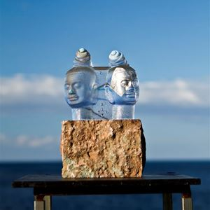 Bild på Tvillingsjälar 35 x 22 cm