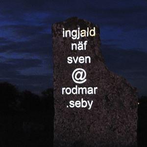 Bild på Konstnatten 2008, Seby gravfält