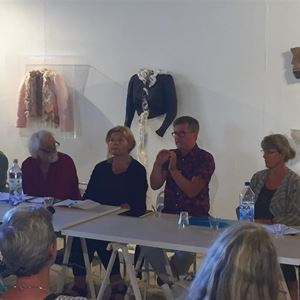 Bild på Paneldiskussion på temat kulturarv
