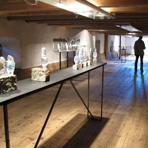 Bild på Konstmagasinet, Ottenby Kungsgård 2012