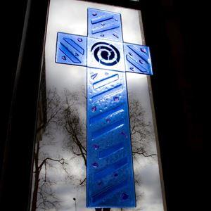 Bild på Glaskors. Gräsgårds kyrka, Öland