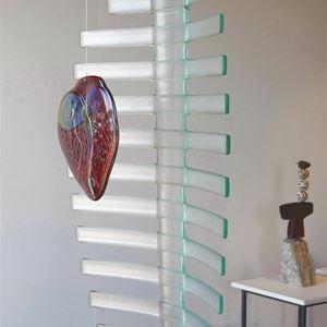 Bild på Hjärta av glas 100 x 45 cm